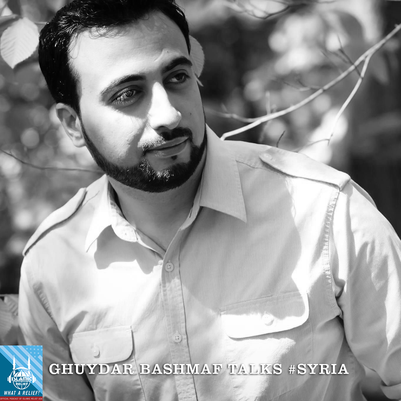 Ghuydar was born and raised in Syria, and came to the United States at age 19. He grew up listening to Islamic nasheed—spiritual songs—and now he sings them himself. Right now, many of his songs focus on his love for Syria and his heartbreak for the country and people.